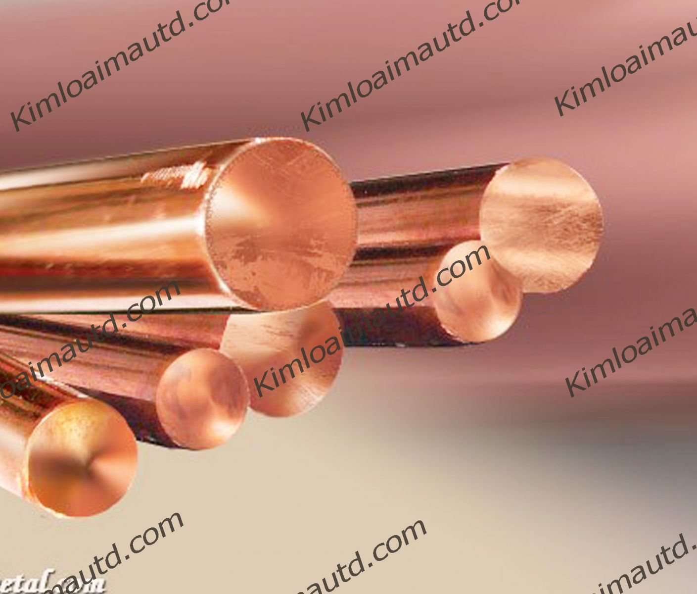 Strip, foil, bar, round, polygon Copper